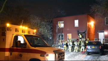 Four taken to hospital after Niagara Falls apartment fire