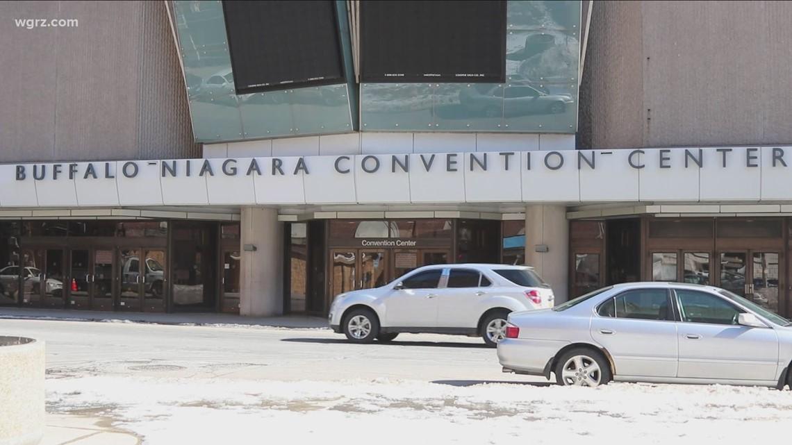 Convention Center vaccines Verify