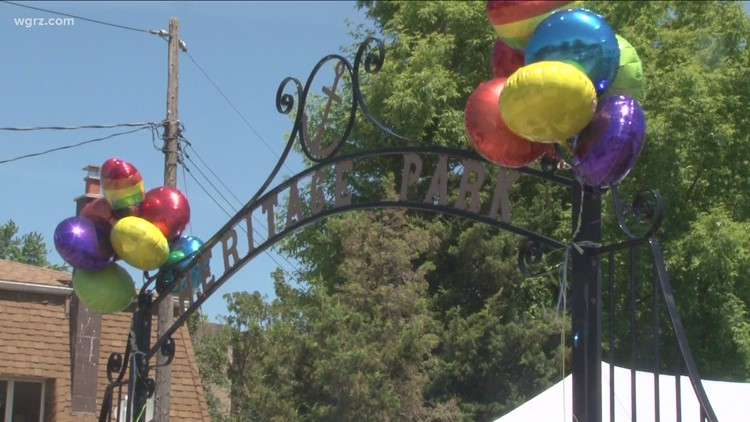 Oliver Street merchants host shop pride event