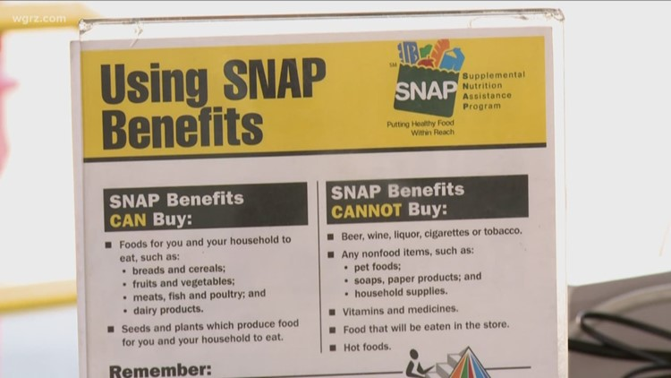 New York food stamp benefits to be released early