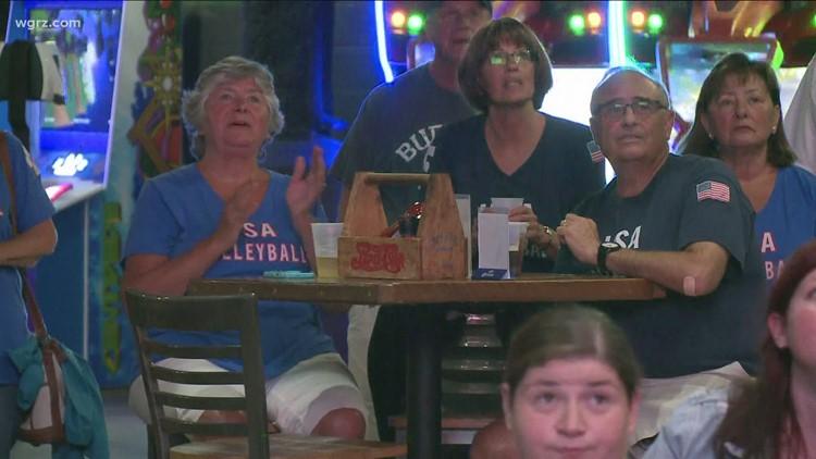 WNY fans cheer on Matt Anderson from Buffalo