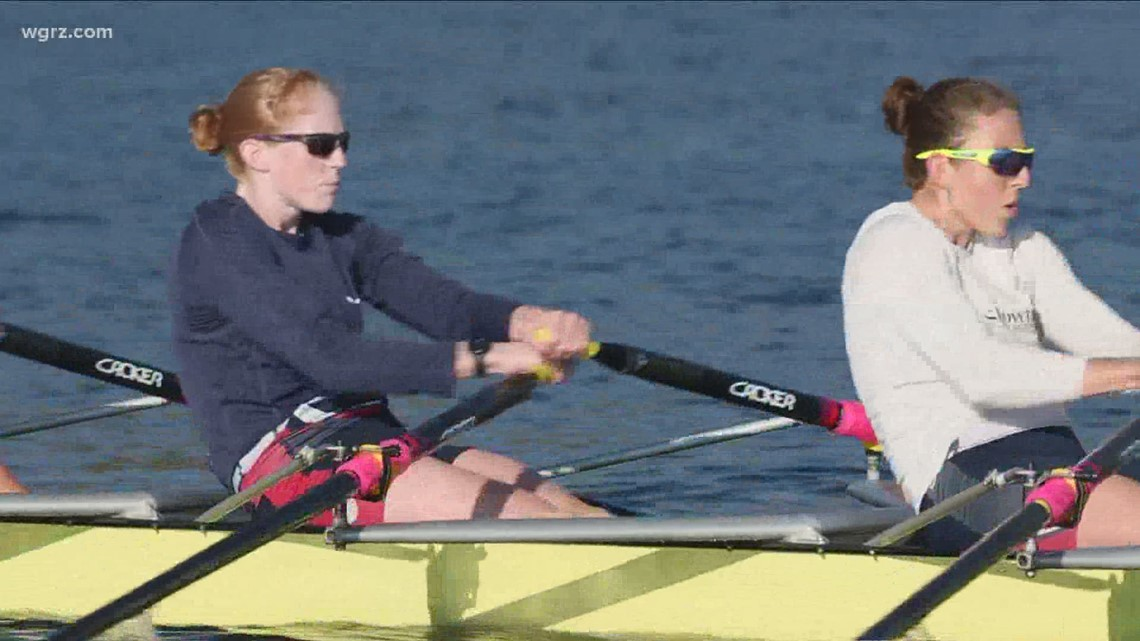 WNY gold medalist Emily Regan talks about her battle with COVID-19, preparing for Tokyo Olympics