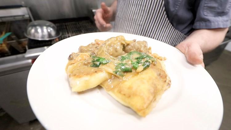 Plate of pierogi