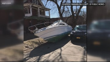 Niagara Falls Police: arrest made in boat-dumping incident