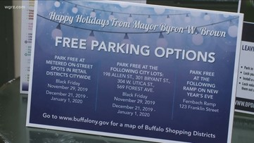 Parking is now free in the City of Buffalo