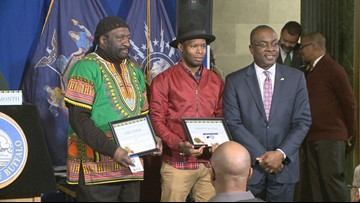 Community members honored during Black History Month Event