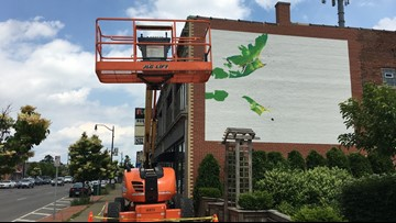 With push by Albright-Knox, three new murals going up in Buffalo