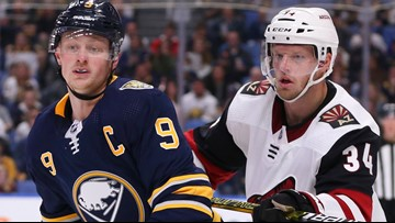 Sabres heading into highly charged atmosphere in D.C.