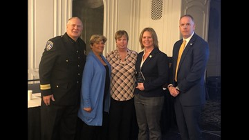 Erie County detective honored in fight against human