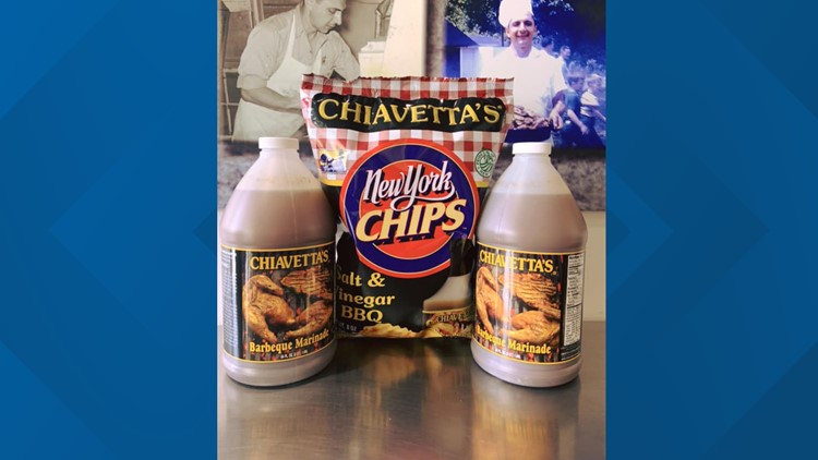 Chiavetta's coming out with potato chips