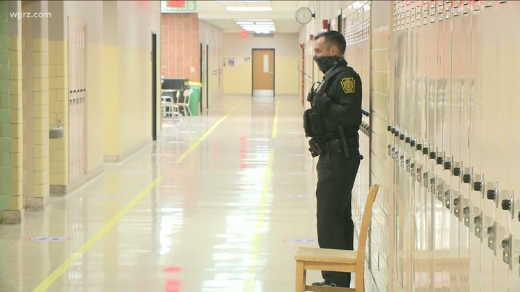 Security at Western New York polling places