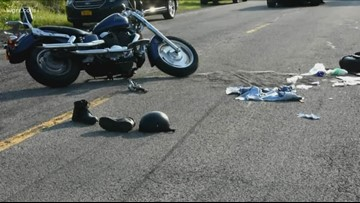 Man Killed In Motorcycle Crash In Cambria