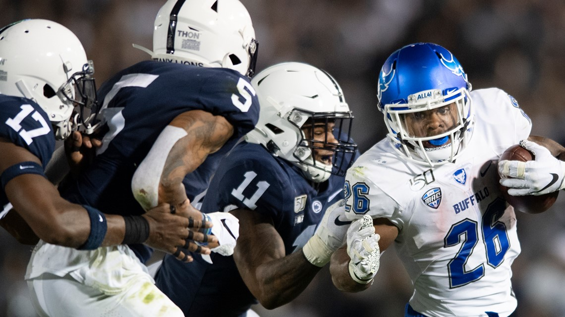 Buffalo starts strong, fades late during loss at Penn State