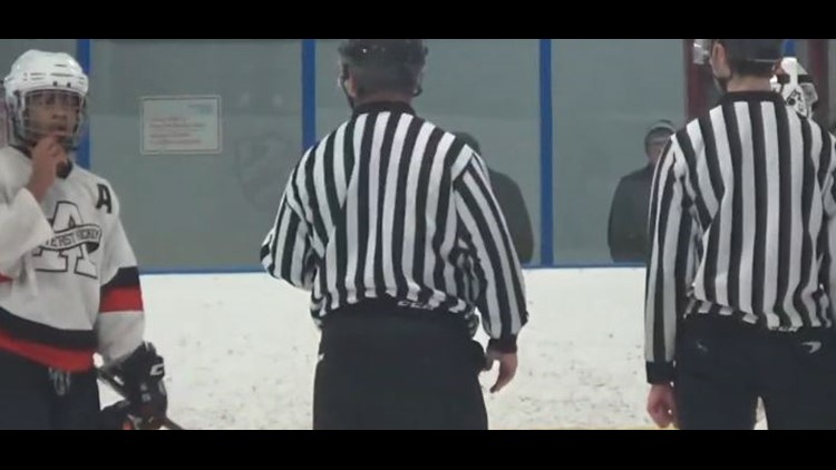 January youth hockey game