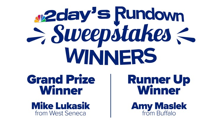 2day's Rundown Sweepstakes' winners