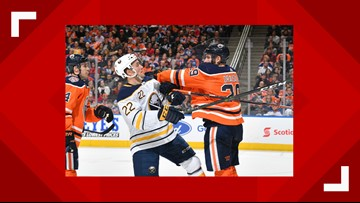 Sabres Humbled by Oilers, 7-2