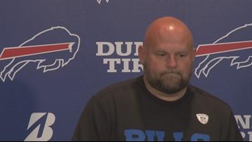 Bills offensive coordinator pleased with QB Josh Allen's progress