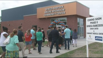 New Seneca Babcock Community Center Opens
