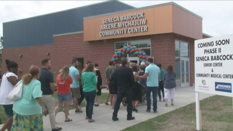 New community center opens in Seneca-Babcock neighborhood