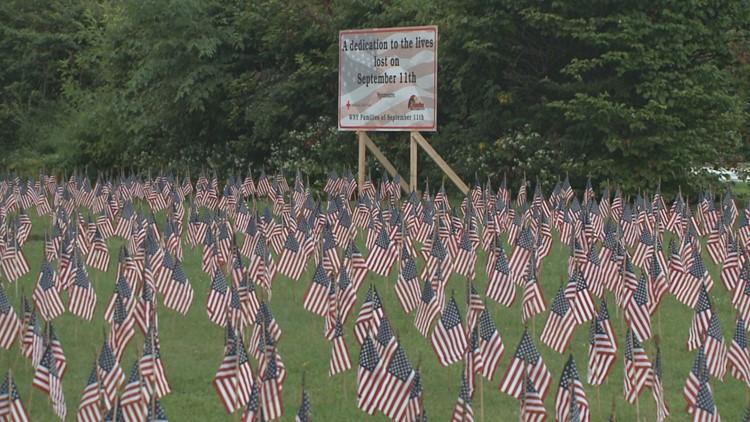 RED CROSS 911 FLAG MEMORIAL