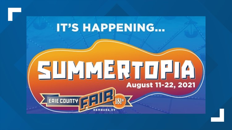 The Erie County Fair is back with the 12 Best Days of Summer