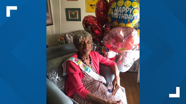 Buffalo woman Florence Lumpkin turning 100