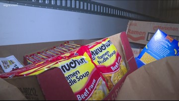 Annual Food 2 Families drive continues across Western New York