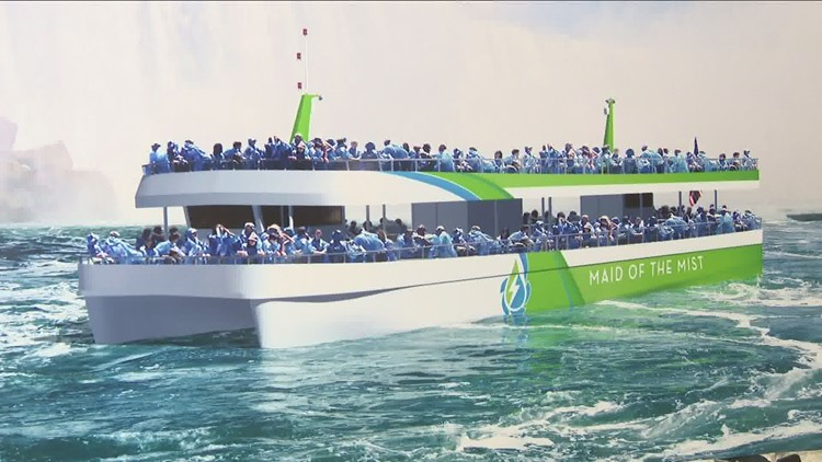 Maid of Mist boats to set sail this month