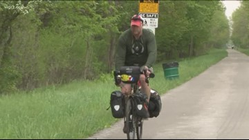Lockport to Maine: former Buffalo Fire captain bikes for cause
