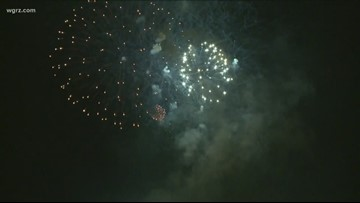 Falls Fireworks Back On, $25, 000 From NCFCU
