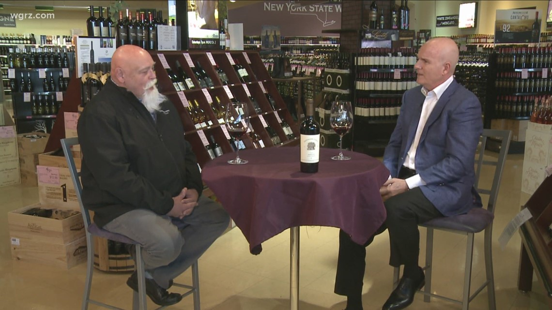 Kevin is joined by Barry Dodds to try the Freemark Abbey Merlto