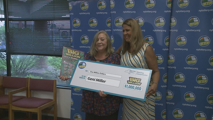 Buffalo woman wins $1,000,000 lottery prize