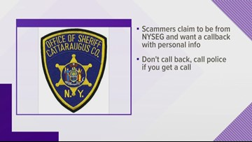 Phone Scam Warning In Catt. County