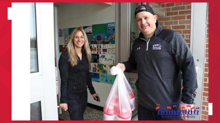Williamsville Central donates medical supplies