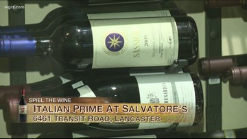 Kevin is at Italian Prime At Salvatore's with Russell Salvatore