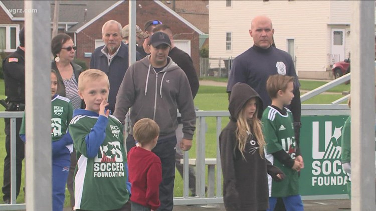 Lackawanna gifted new soccer mini-pitch