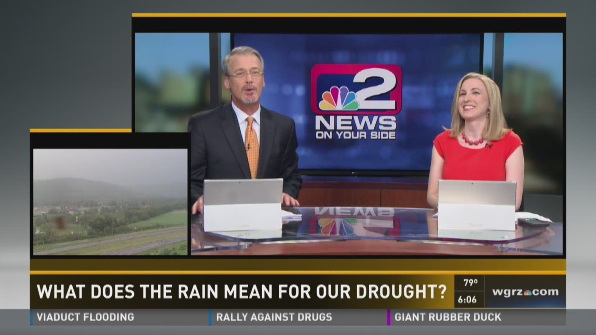 what does the recent rain mean for our drought