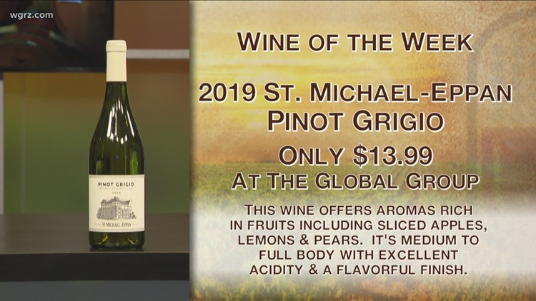 Kevin's Wine of the Week is the 2019 St. Michael-Eppan Pinot Grigio