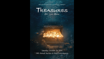 October 19 -  Treasures Of The Sea
