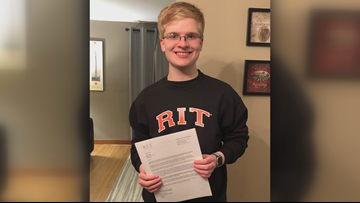 WNY's Great Grads: Kenmore West Student Undergoes 10 Brain Surgeries, Heading To RIT