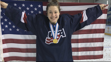 Hockey Phenom from Amherst Goes for Gold