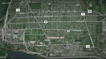 Niagara Falls woman hit, driver charged with aggravated DWI