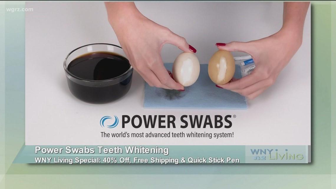 October 9 - Power Swabs Teeth Whitening