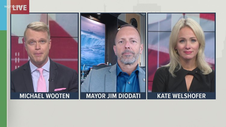 Wednesday Town Hall: Niagara Falls, Ontario Mayor Jim Diodati talks border reopening