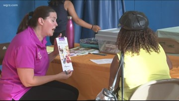Backpacks filled with school supplies given to Buffalo kids