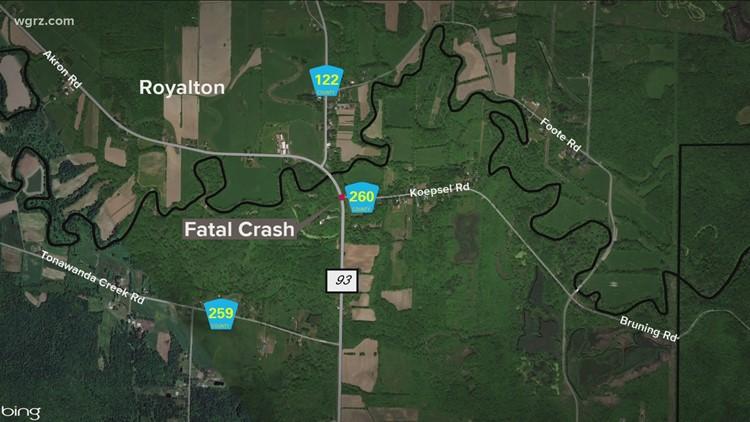 1 person killed in car crash in Newstead