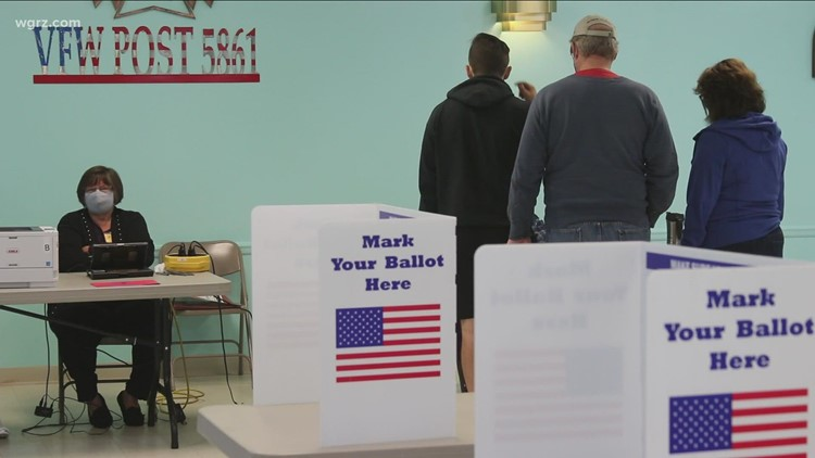 Brown, Walton continue to campaign across Buffalo ahead of early voting