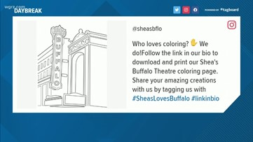 Shea's challenging patrons to show off their artistic skills online