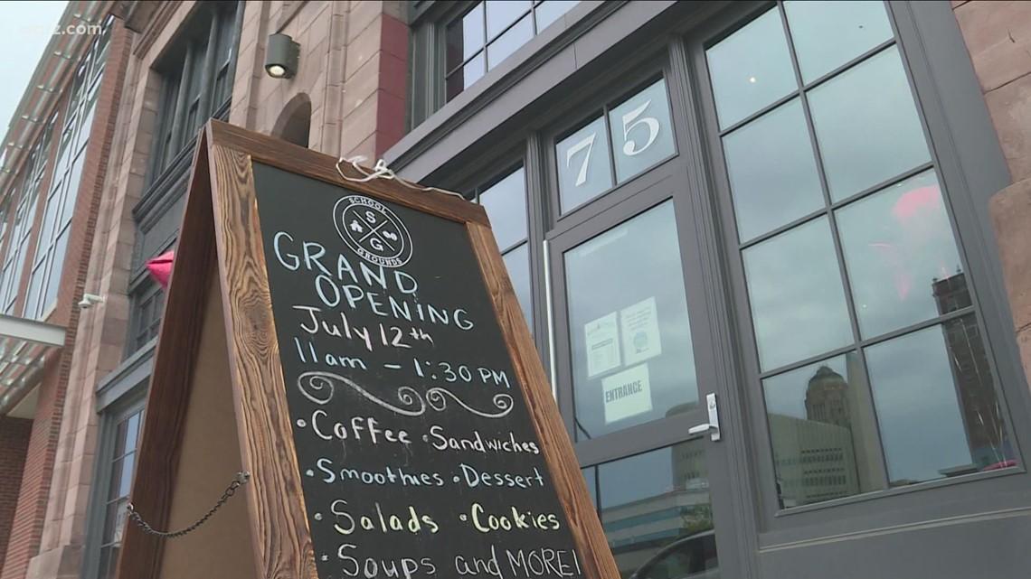 School Grounds restaurant opens