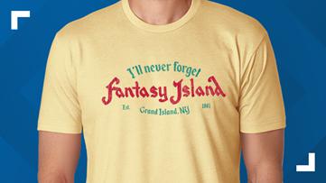 26Shirts creates Fantasy Island shirt to remember late theme park